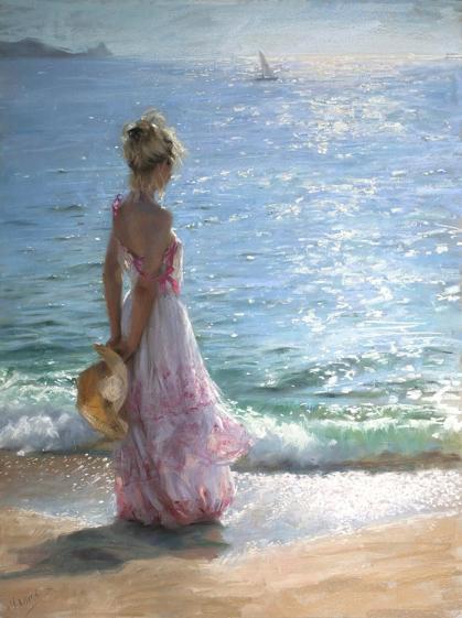Amo il mare, i suoi spazi immensi, i suoi silenzi...