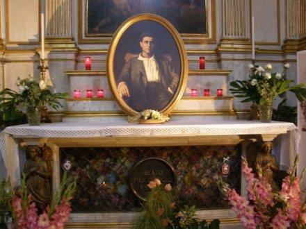 Bl Pier Giorgio Frassati tomb